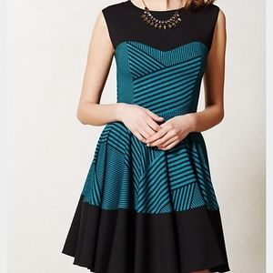 Eva Franco Stripe Swing Dress